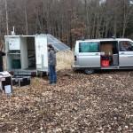 Intensive Windmessung (im Bild ein LIDAR-Messaufbau) waren die Grundlage für die weitere Standortuntersuchung